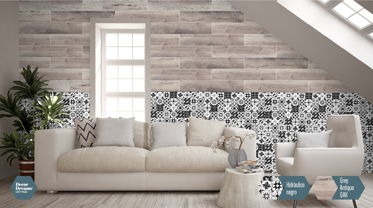 Entra a decorar decordreams losetas decorativas para pared for Losetas decorativas pared